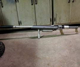 Fully Portable, Homemade, Airsoft Gun