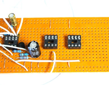 Making the Circuit - Wiring the Op Amp