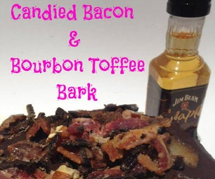 Candied Bacon & Bourbon Toffee Bark