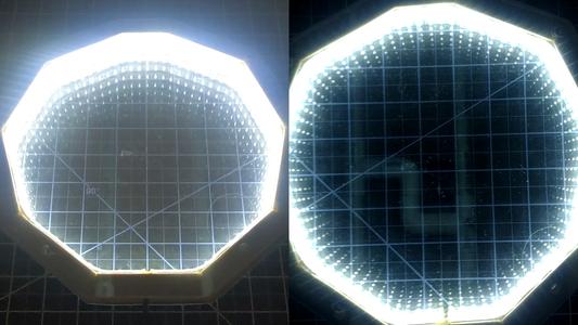 Experiments - 2 Partial Mirrors