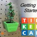 TinkerCAD - Peg Board Planter