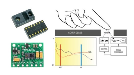 How to Wire MAX30100 Heart Rate Monitor With Arduino Microcontroller