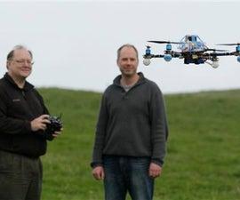 Cheap, Sturdy, 1-Hour Quadcopter