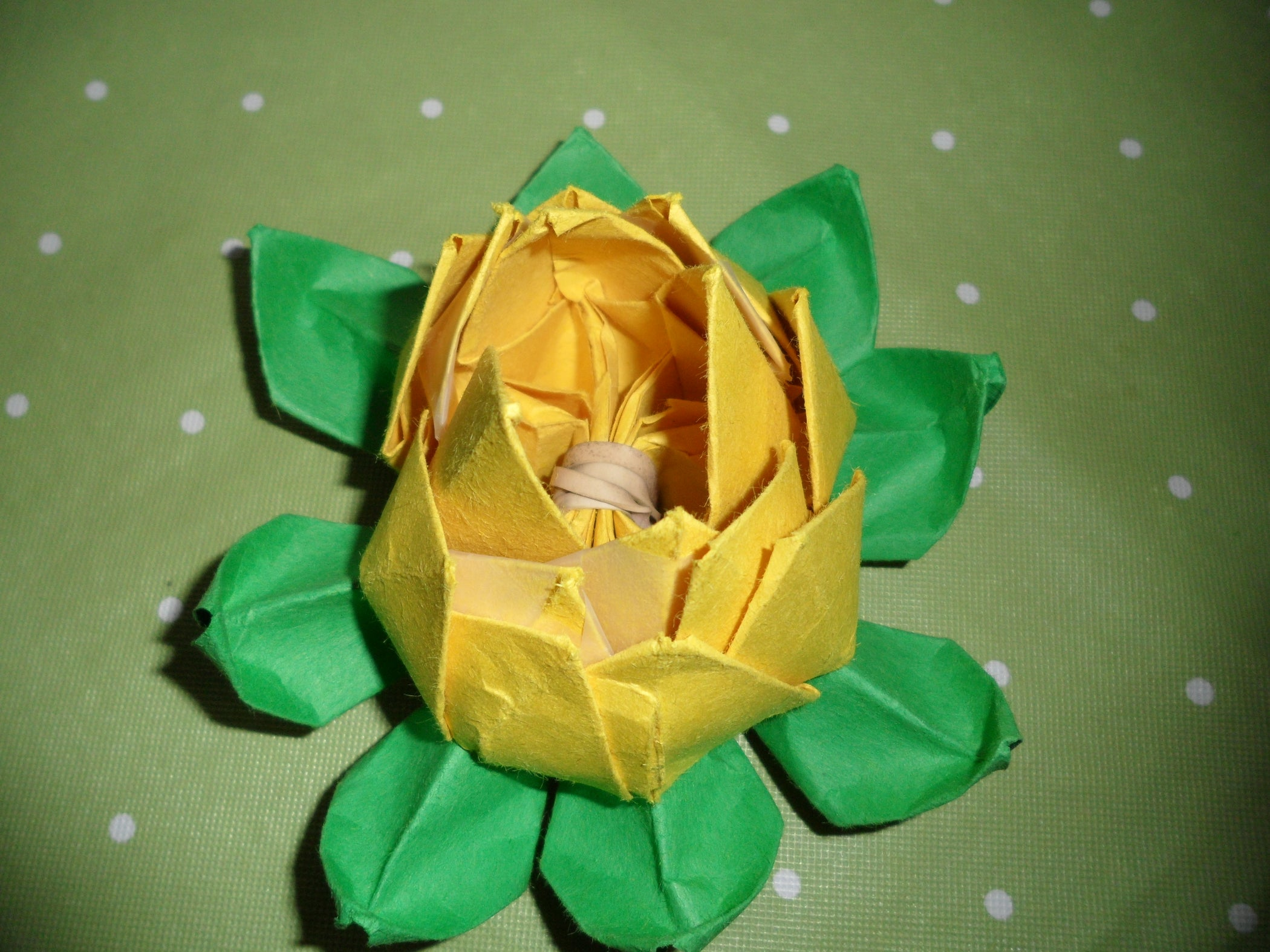 Origami lotus flower 35 steps with pictures izmirmasajfo