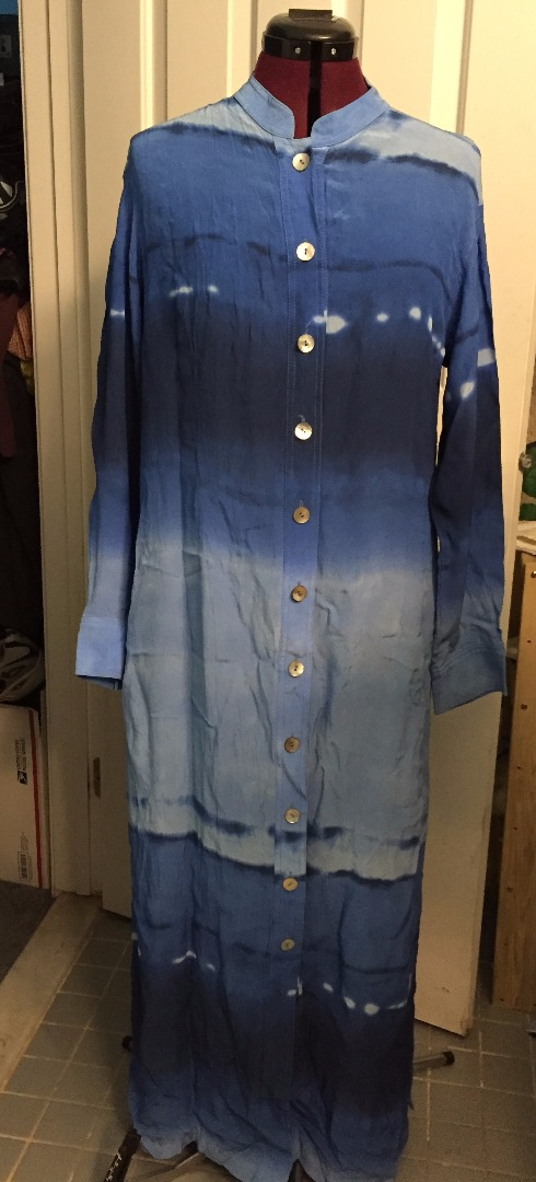 Picture of Vintage Dress Upcycled to Shirt and Skirt