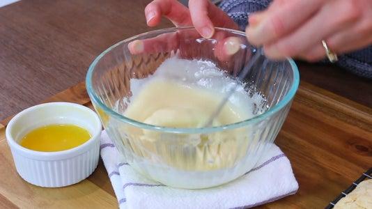 Preparing Orange Glaze