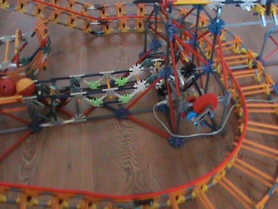 Attaching the Roller Coaster Tubing
