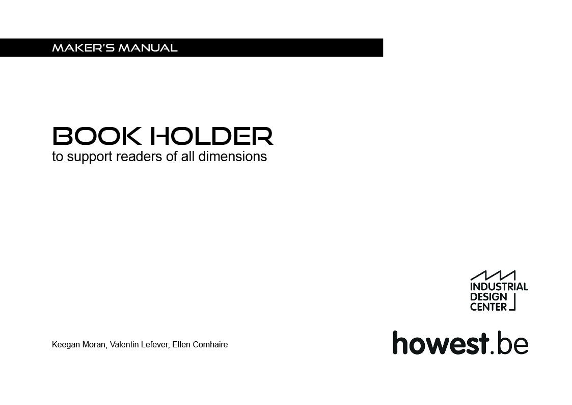 Picture of CAD IV Book Holder #HOWEST #D4E1 #IPO