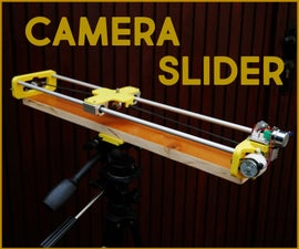 Make a Motorised Camera Slider