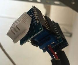 ESP8266 Garage Door Opener With Temperature/Humidity