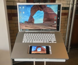 Smartphone Powered Laptop