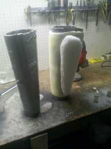 Making the Arm Extenions