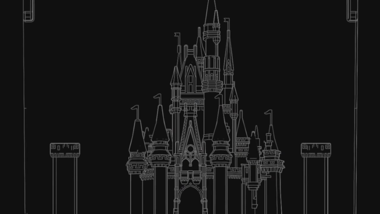 Picture of DIY Disney Castle Projection Mapping