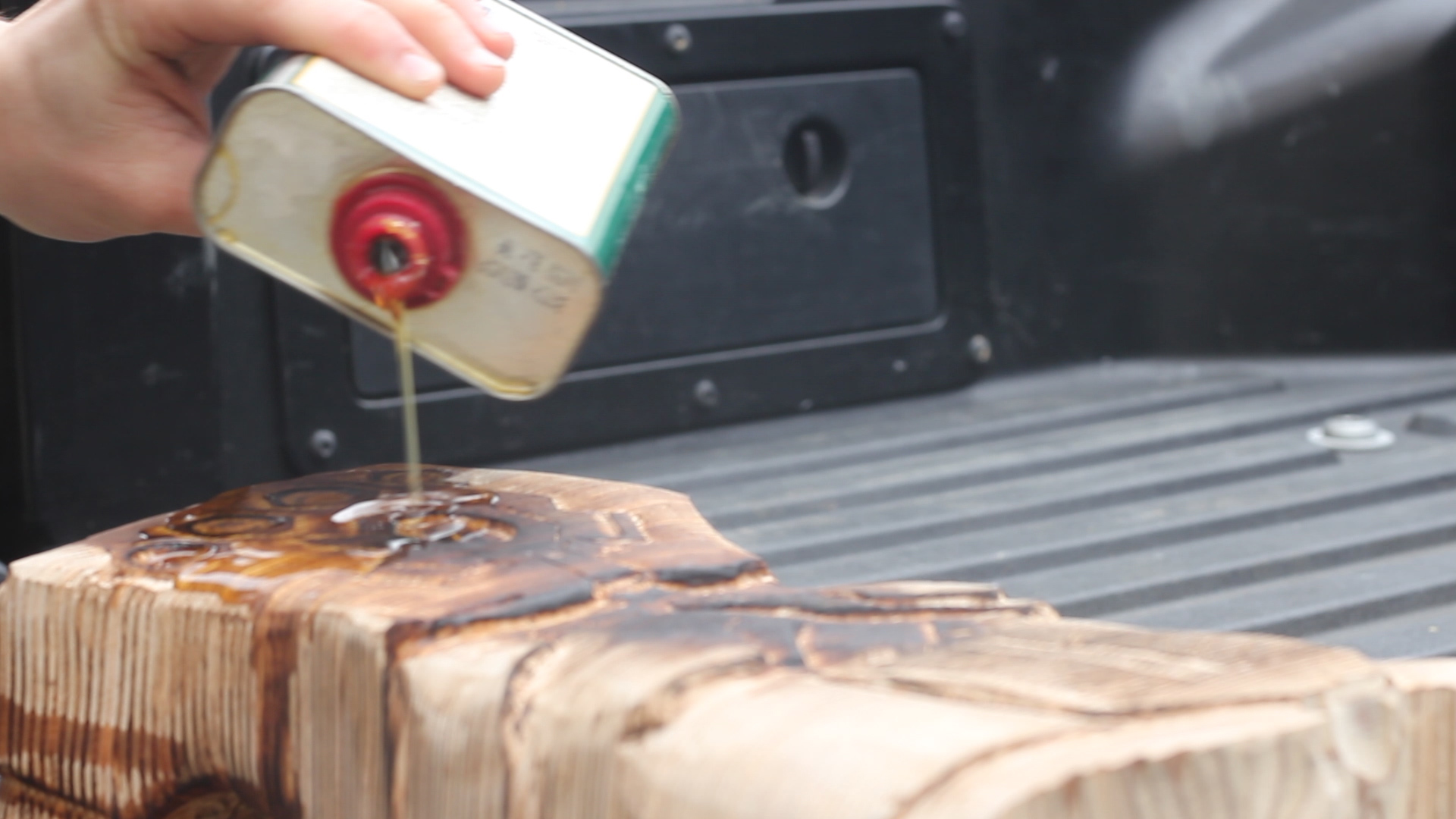 Picture of Burning and Oiling