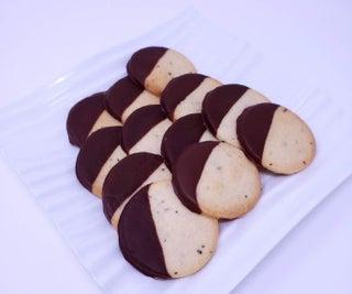 Two-Tone Coffee and Cardamom Cookies