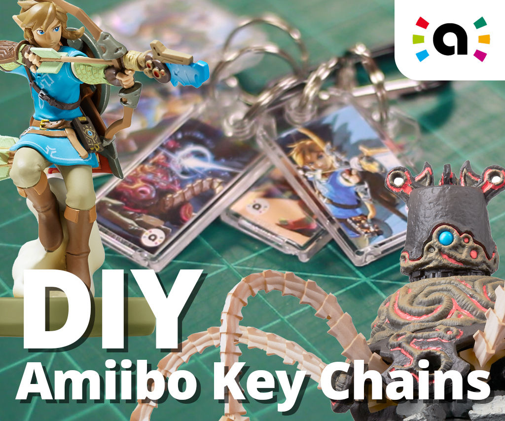 Amiibo Key Chains (Kiichains?): 6 Steps (with Pictures)