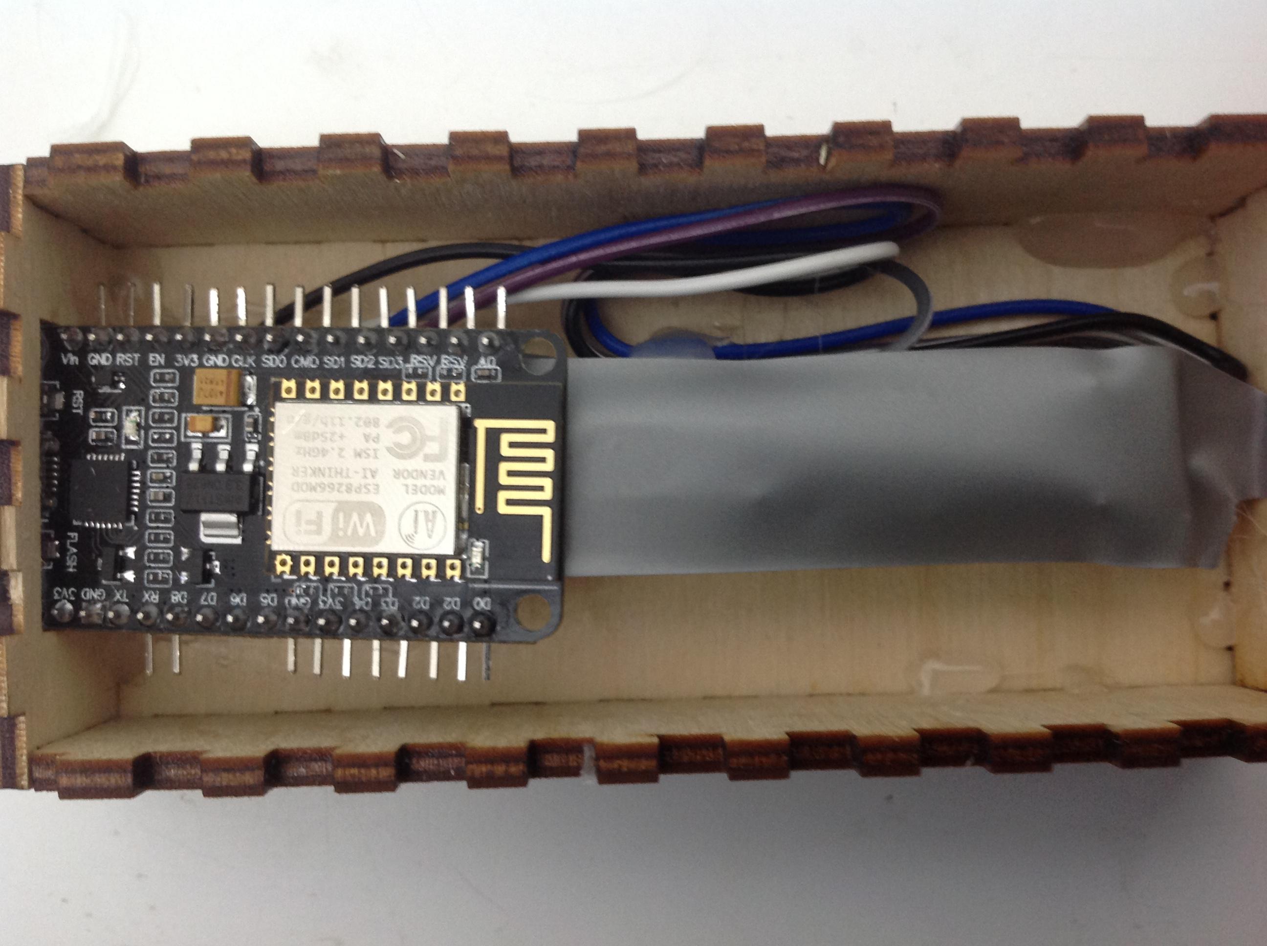 Picture of ESP-8266 Instillation