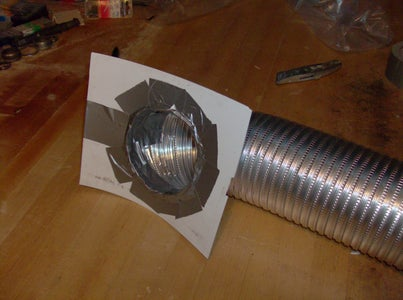 Set Up the Exhaust Vent