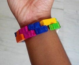 Retro Tetris Bracelet!