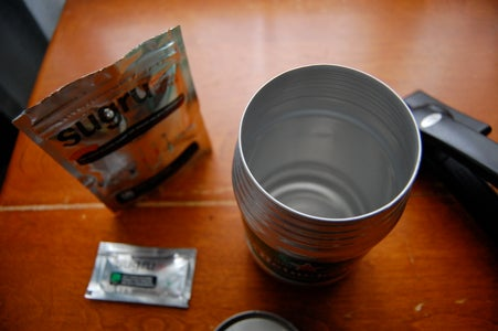 Modify the Can to Be a Small Pot