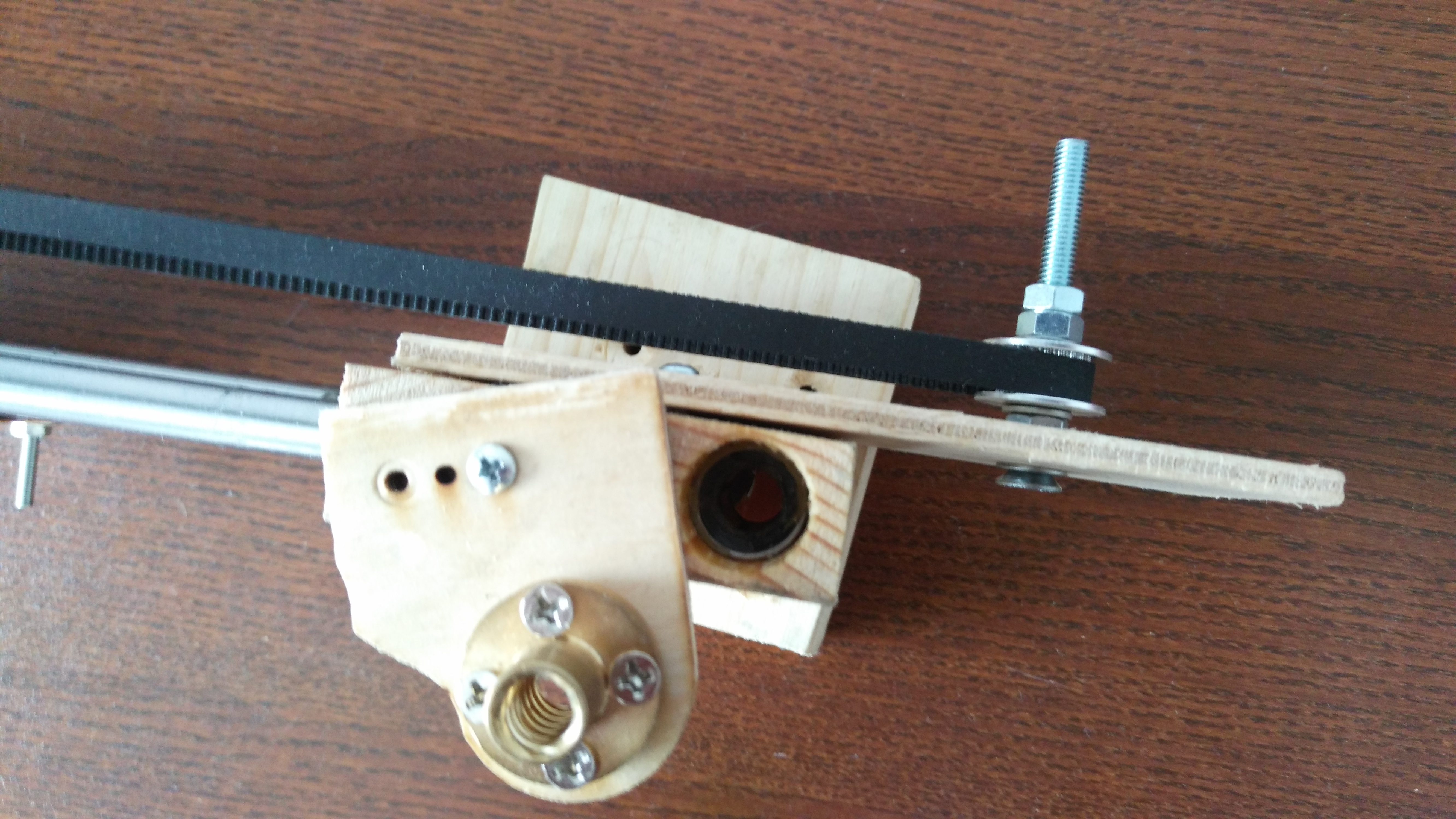 Picture of Create the X,Y,Z Axis Specific Parts From Wood