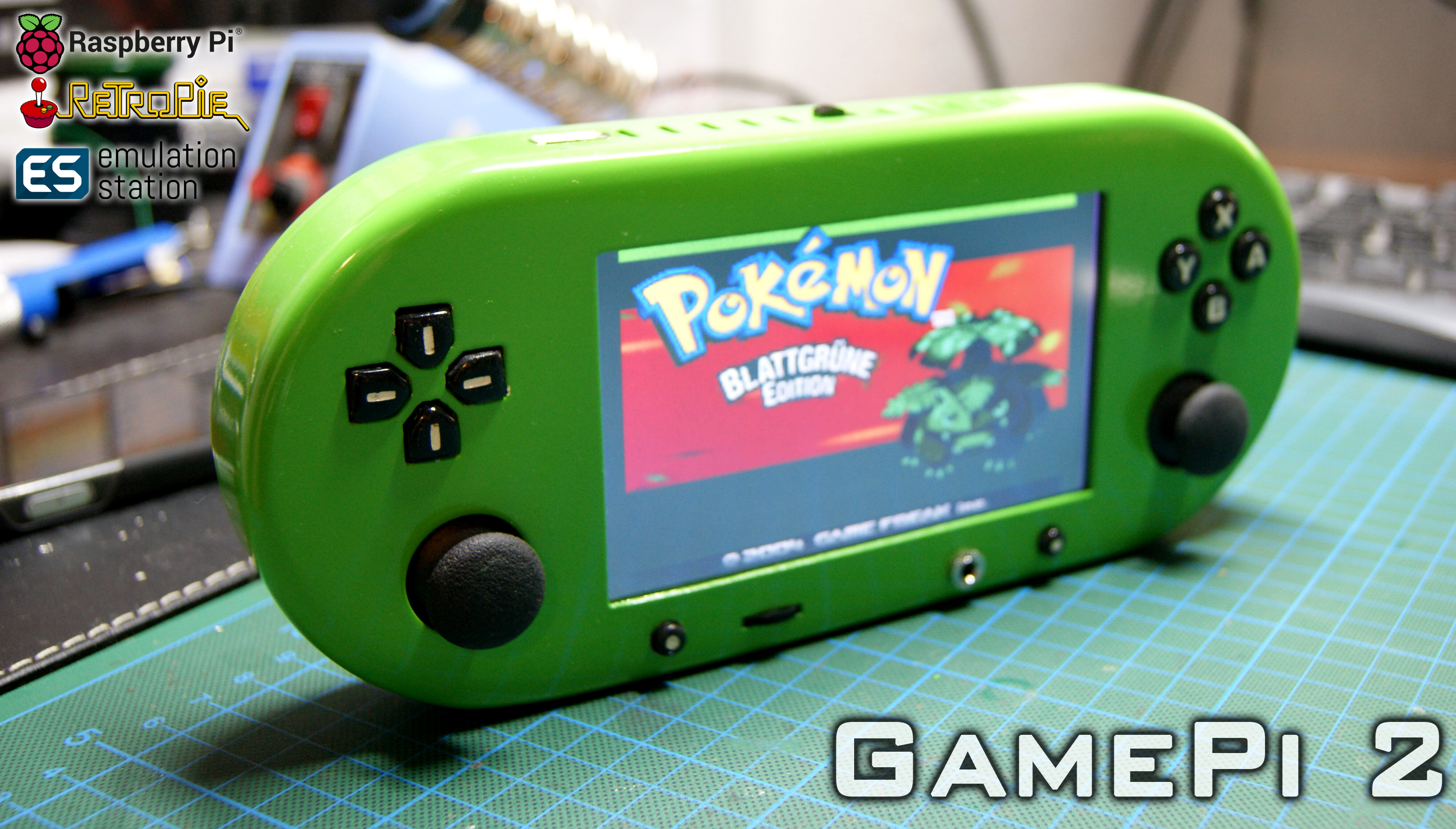 Picture of GamePi - the Handheld Emulator Console