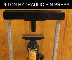 6 Ton Hydraulic Pin Press