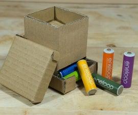 Cardboard Battery Dispenser