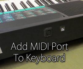 Add MIDI port to Keyboard