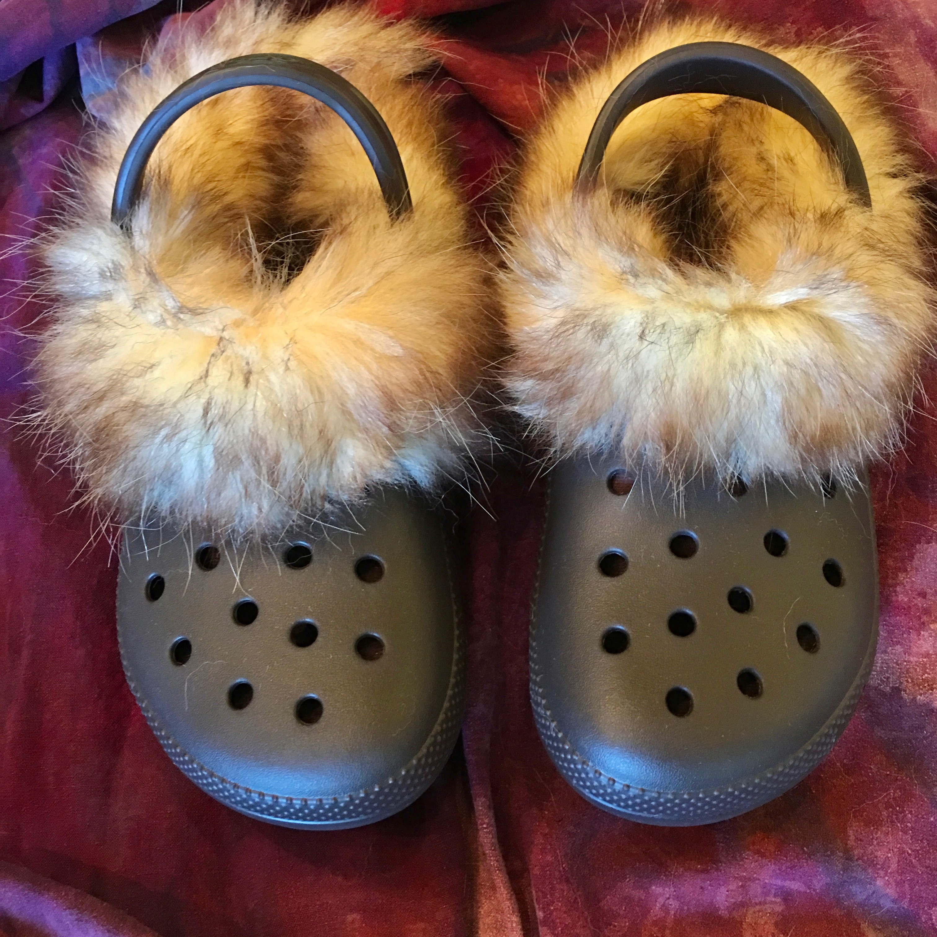 Picture of Fur Lined Crocs
