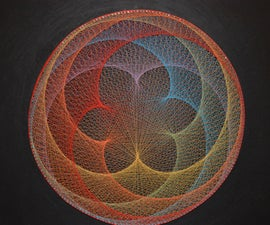 Flower String Art