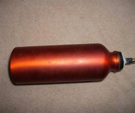 How to make a air cylinder (cheap) for an air gun.