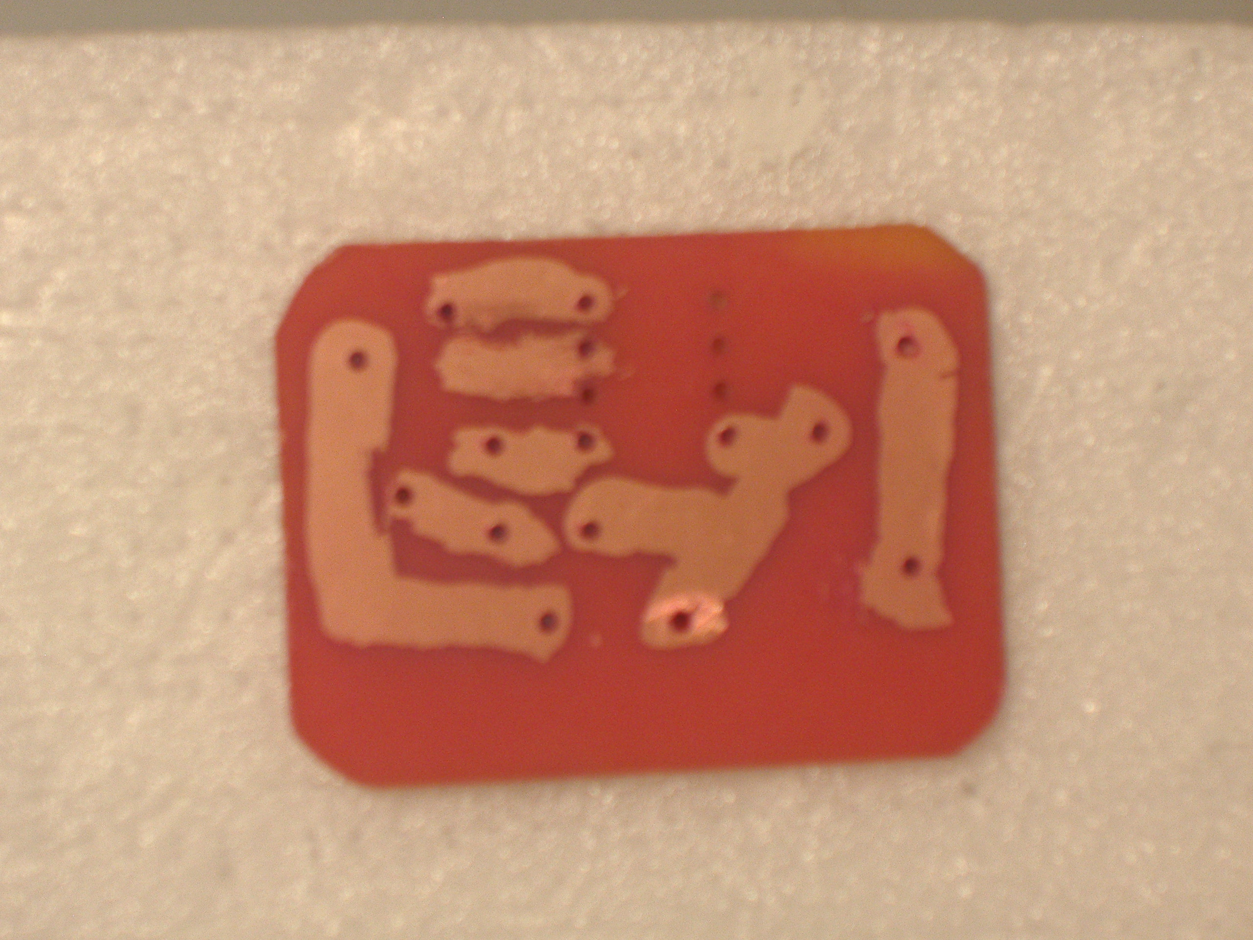 Picture of Making the PCB Itself.