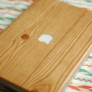 DIY Wood-Grain Laptop Wrap