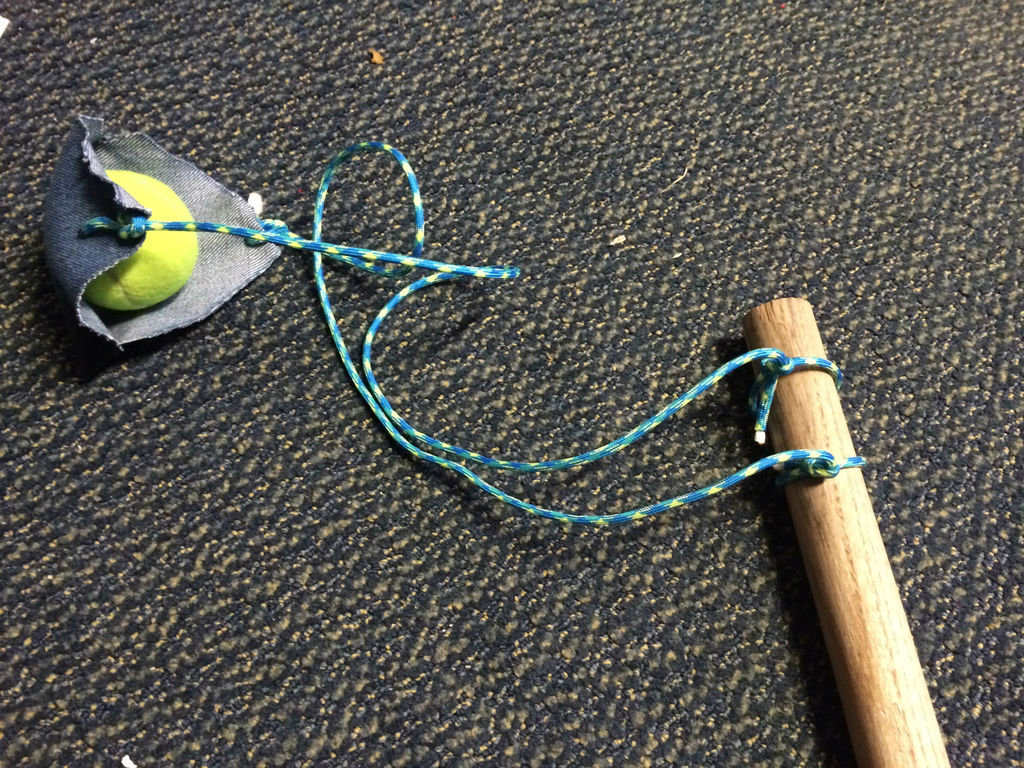 Picture of How to Make and Use a Staff Sling