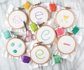 Embroidery 101: How to embroider