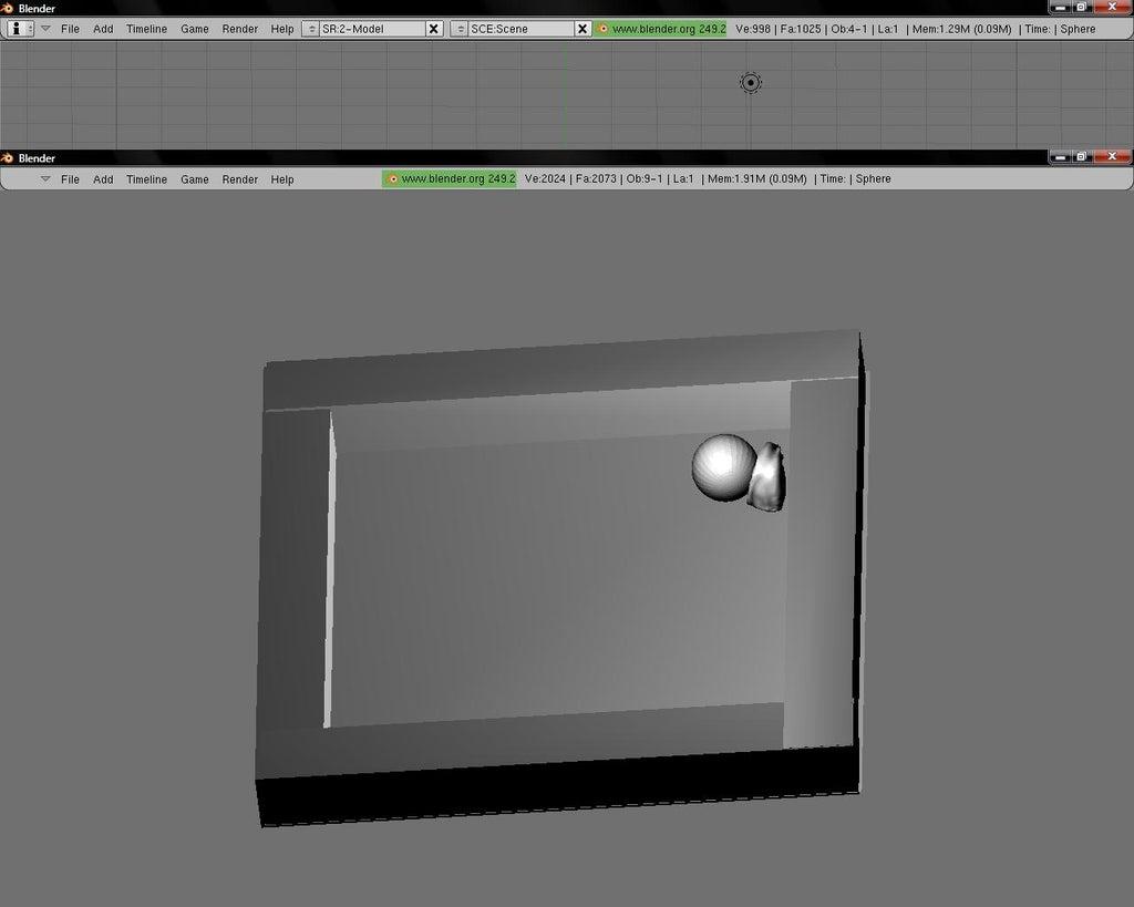 Blender Game Engine: 4 Steps