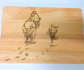 Winnie the Pooh Cheese Board