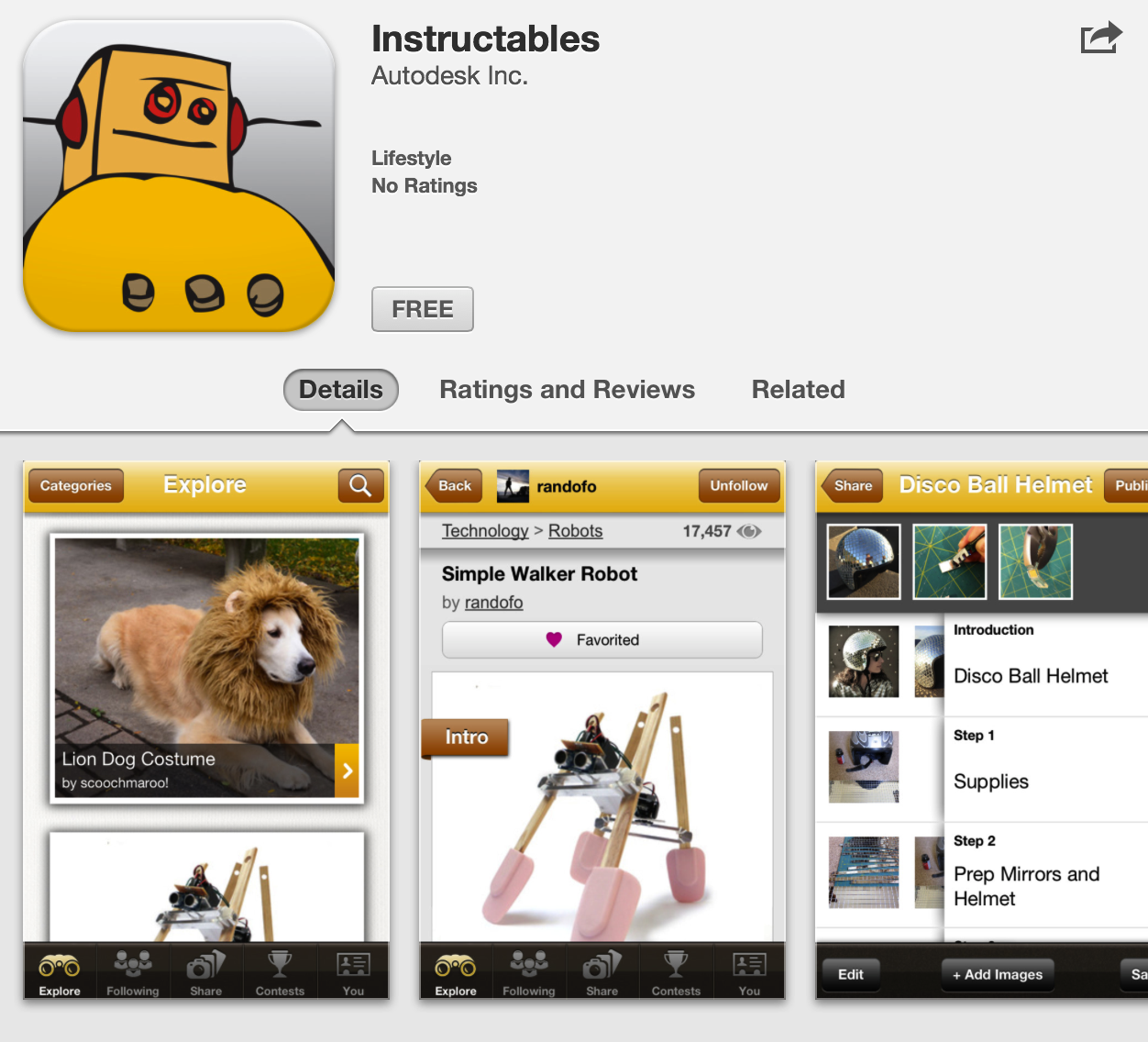 Picture of Instructables iOS App Released!
