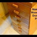 Wooden Drawer Pulls