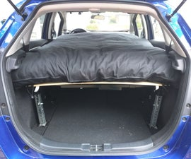 Car Camping in a Compact Car