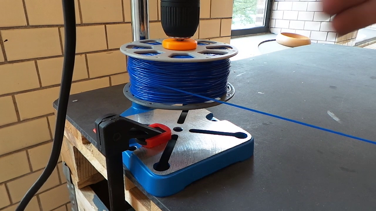 Picture of Finnish the Spool Winding