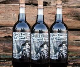 Captain Twmffat's Dark Spiced Rum