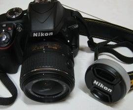 Camera Lens Cap Holder