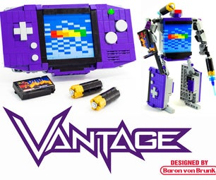 "Transforming LEGO Game Boy Advance - ""Vantage"""