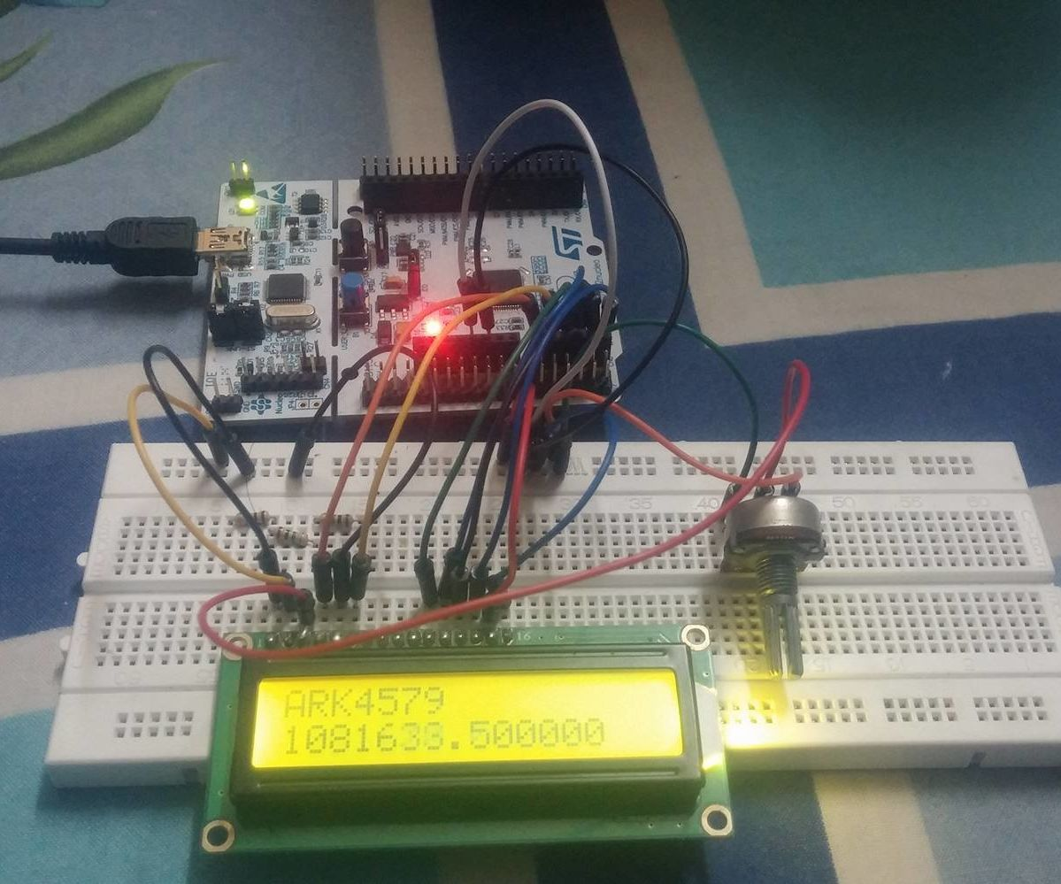 STM32F103: Interfacing LCD 16x2 (using Mbed h): 3 Steps