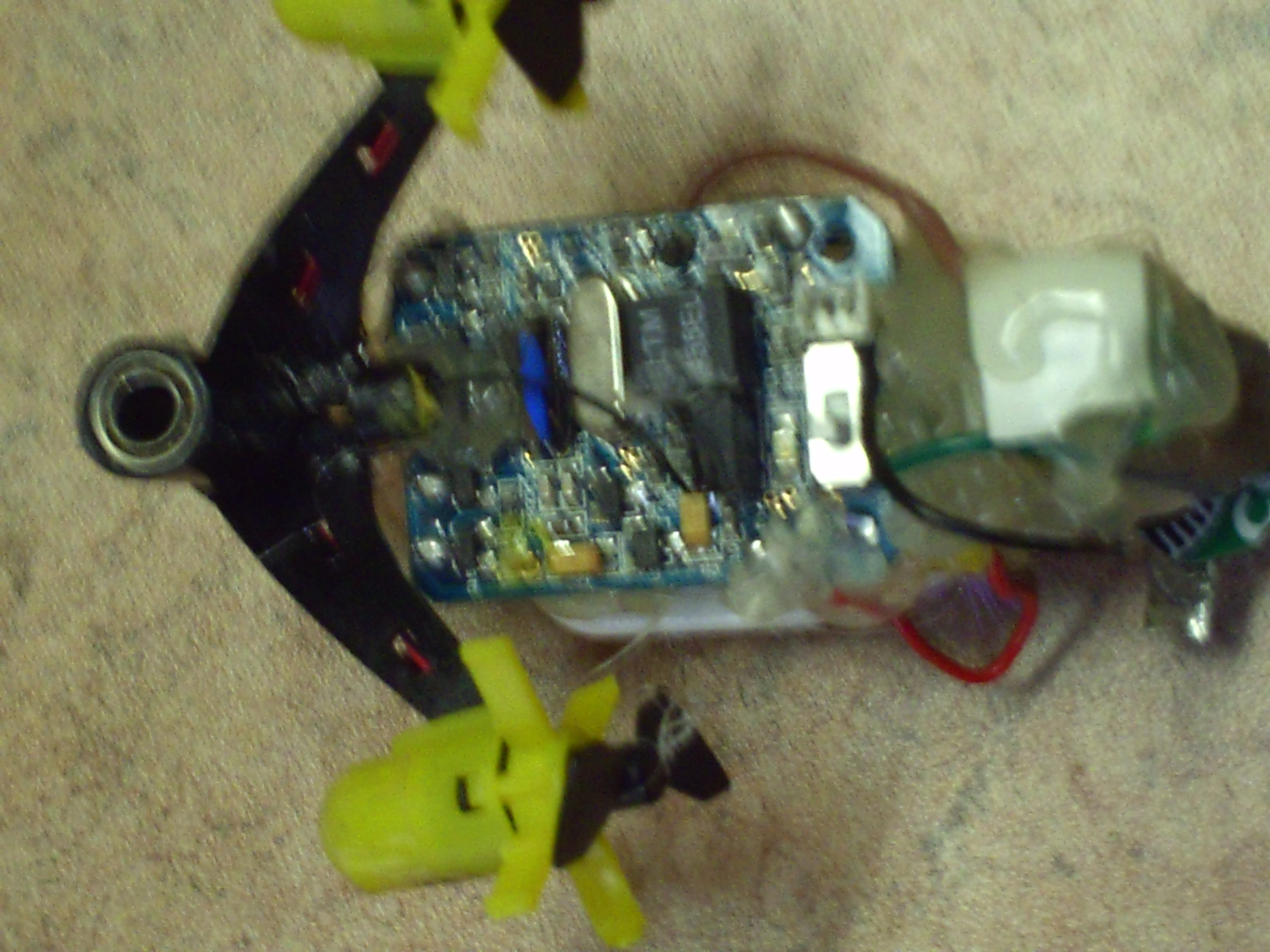 Picture of RC Bristle Robot