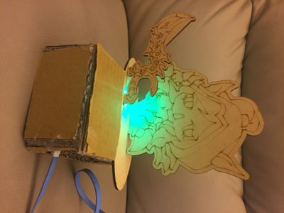 Cool and Easy Night Lamp