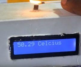 Arduino LM35 Digital Temperature Meter