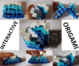 Interactive Origami Sculpture
